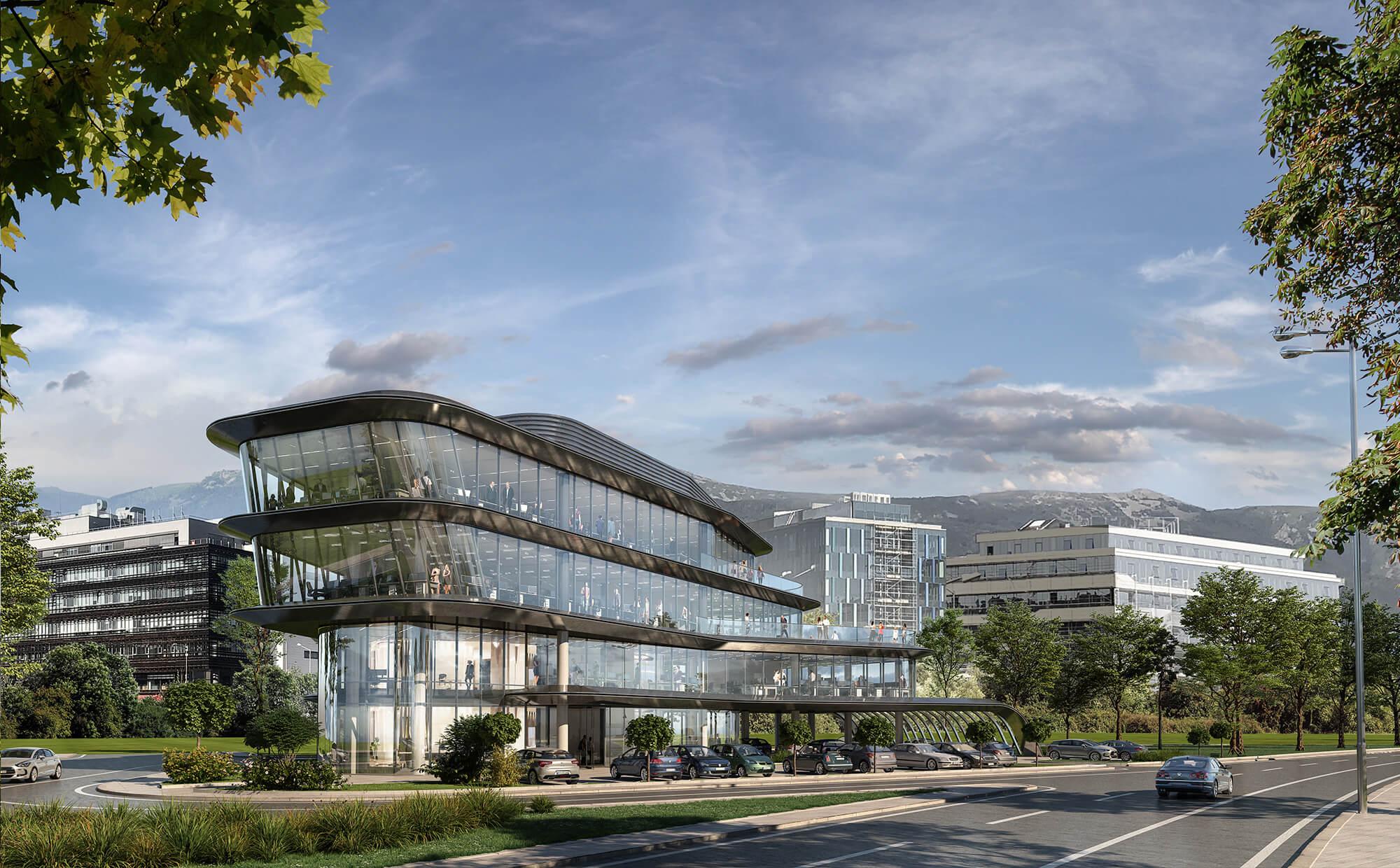 Адора 3 - Офис сграда